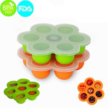 New products 2017 best seller home & garden candy storage bpa free food storage silicone baby food storage
