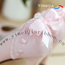 Beautiful ribbon for decorate shoes