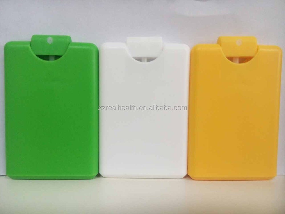 20ml Antibacterial Hand Cleaning Liquid with Portable Credit Card Dispenser