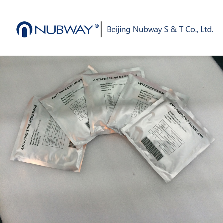 Beauty Salon Professional -20 Degrees Celsius 34*42 Membrane Antifreeze Cryolipolysis Pads
