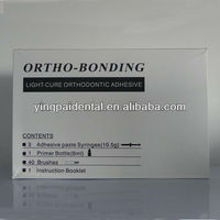 Light Cure Dental Orthodontic Composite Adhesive