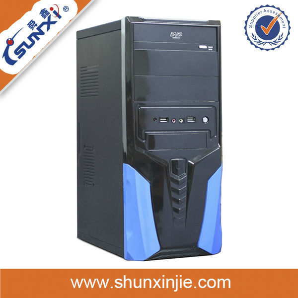 New handle ATX computer case full tower computer laptop chassis types computer case with ups
