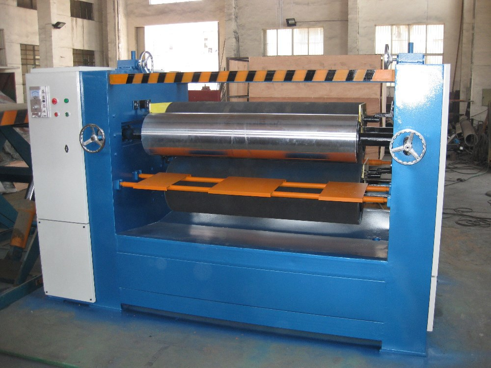 plywood adhesive machine