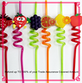 Decorative crazy drinking straw for Summer party decoration