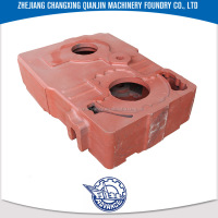 ISO9001 Custom OEM Iron HCF2400 heavy-truck transmissions engine block casting process