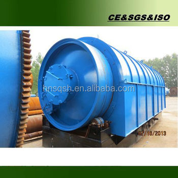 Profitable project 10 tons per day auto pyrolysis tire plant into oil