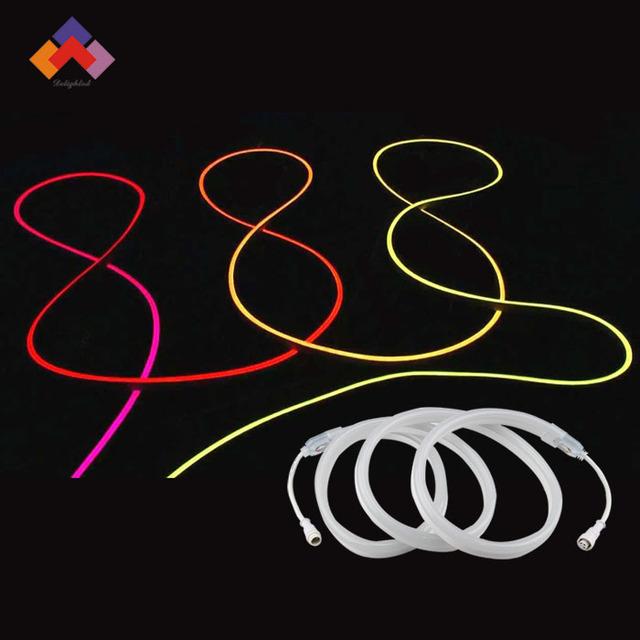 New LED Neon Sign LED Flex Rope Light PVC LED Light LED Strips LED Flex Tube Bar Pub Christmas Party Hotel KTV Decor Light