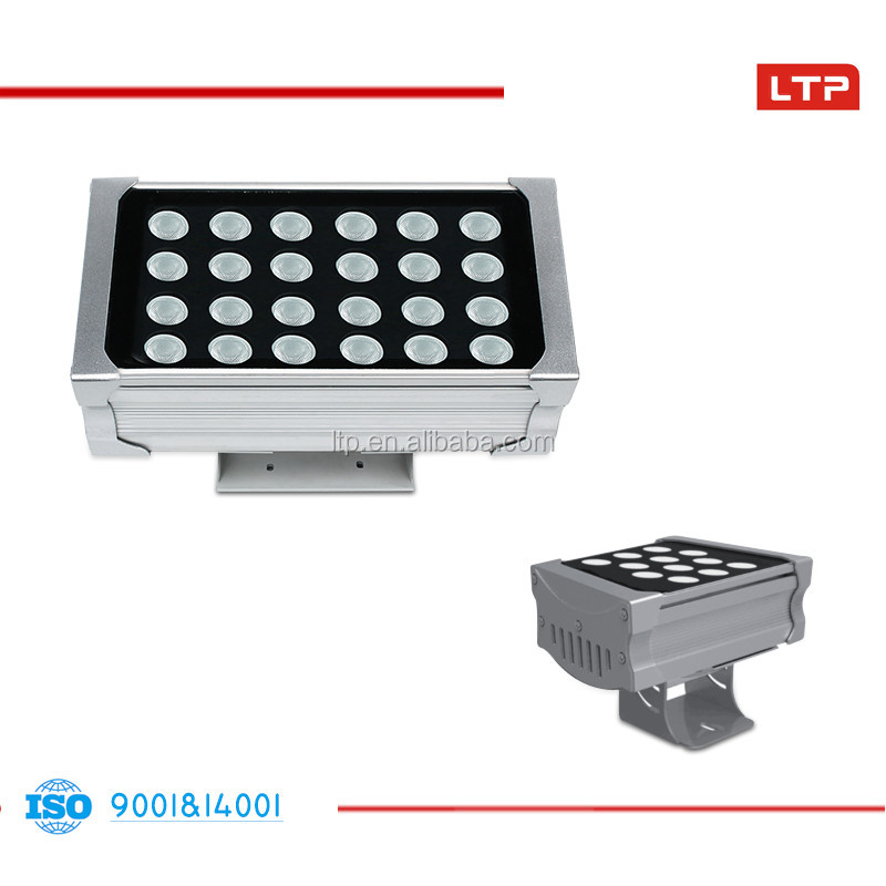 rgb color changing led flood light dmx control led wall washer rectangle outdoor wall washer light