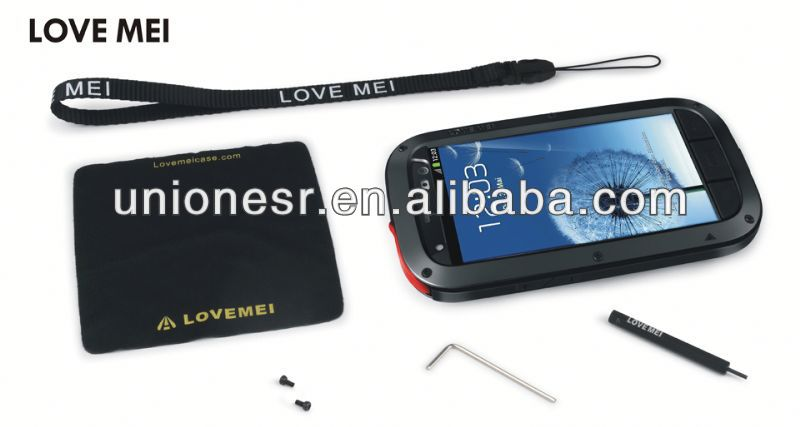 Love Mei Powerful Defender for Samsung Galaxy S3 Shock Proof Cases
