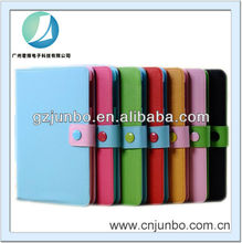 shockproof colorful pu leather case for ipad mini