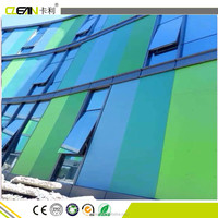 colorful exterior wall siding board decorative fiber cement board