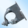 Forged steel scaffolding fixed girder coupler/ beam clamp