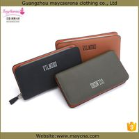 mens wallet with change pocket/purse male/men leather wallet