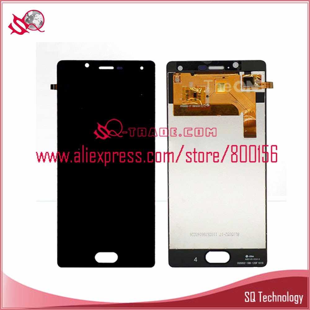 for wiko <strong>u</strong> feel lcd with touch digitizer panel assembly black