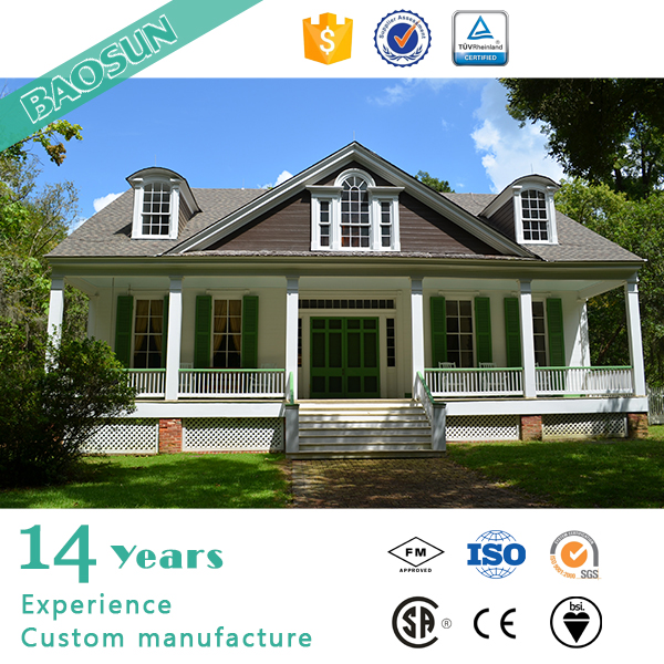 Eco friendly stell structure house cost efficient kit house with ULC AS certificate