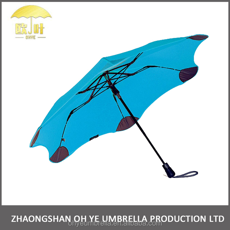 Strong windproof quality mini folding umbrella pocket size