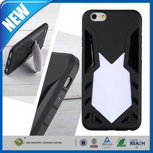 C&T The Newest TPU kickstand back stand protective case for iphone 6 plus