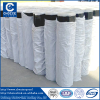 10M/roll self-adhesive SBS modified bitumen waterproof membrane