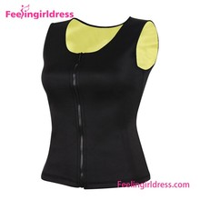 Factory Price Front Zipper Neoprene Sexy Sports Wear