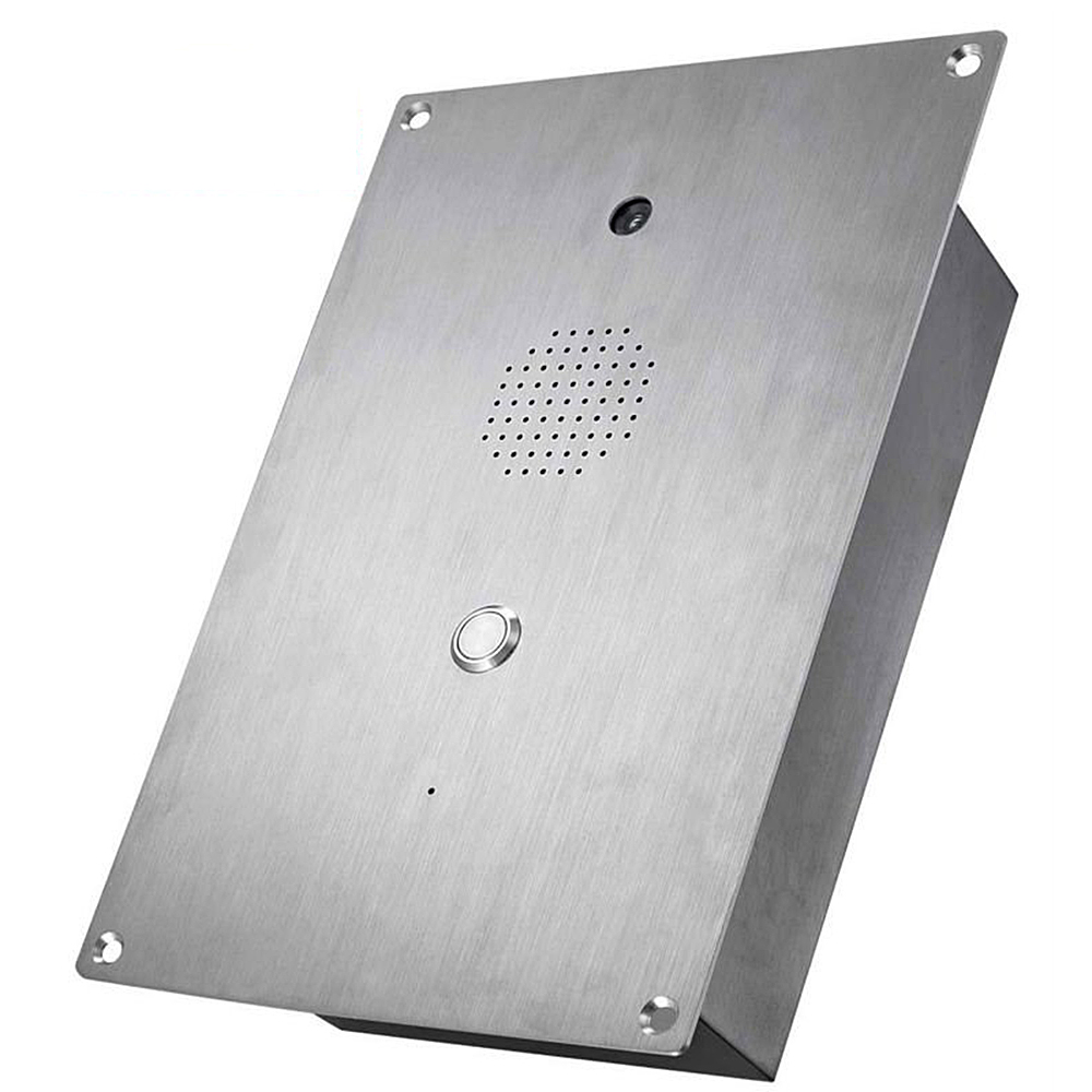 waterproof weatherproof voip telephone enclosure wall mount telephone audio doorphone audio digital door phone KNZD-20