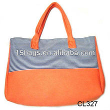 2012 trendy fancy good lady canvas design bag