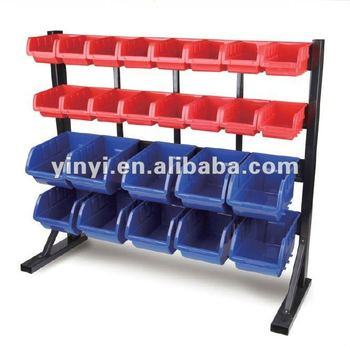 26 bins Storage Bin system floor rack shelf