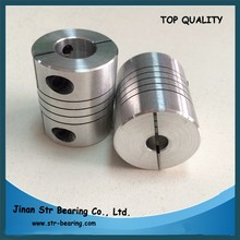 5-8mm bore size Aluminum Alloy Flexible shaft coupling for motor