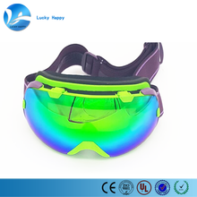 PC+ UV Lens snowboard custom ski snow goggles