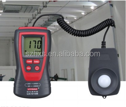 CT-1330B digital light meter luminous flux meter for all place light intensity tester