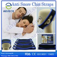 new products 2016 innovative product hebei aofeite anti snore jaw support anti snoring chin strap solution