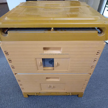 2017 Food Grade Plastic Bee Hive or Beehive Box With 20 Frames or Assembled For Sales From China Super Factory