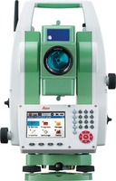 Leica total station Flexline TS09 Plus Reflectorless Total Station 5 SECOND, color display, surveying instrument