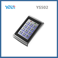 Hot sale & Cheap price Stainless Metal access keypad for automatic door opening (YS502)