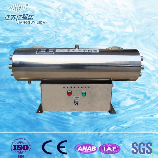 Low-pressure Mercury Arc UVC lamp Sterilizer for drinking water disinfection