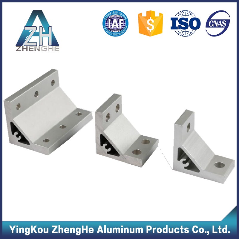 3030/4040 Aluminum profile accessory/t slot aluminum bench brackets