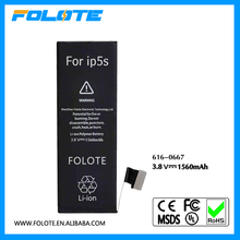Best Selling Products Mobile Phone battery 5S for Iphone 5S battery For iphone 5GS Akku