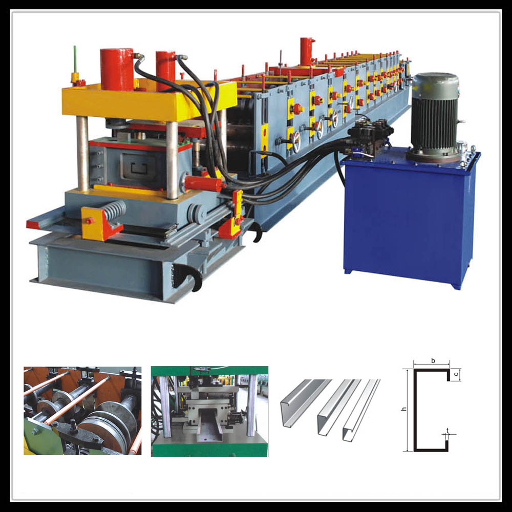 C Z steel profile forming machine