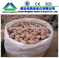 2013 HOT yellow wooden sandstone river pebble