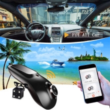 NEW DESIGN china dvr manufacturer full hd 1080p car camera dvr video recorder vehicle wifi video recorder dual camera dash cam