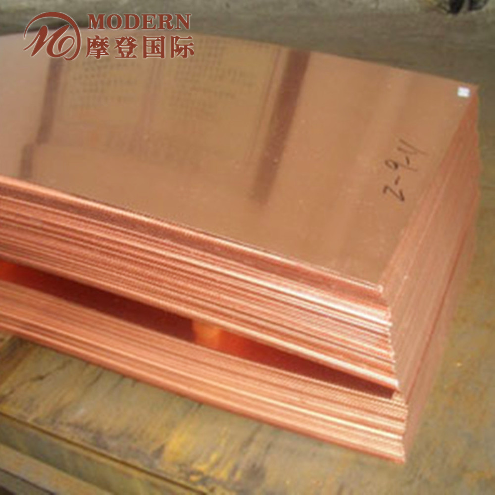 copper heat exchanger effectiveness copper sheets made in China