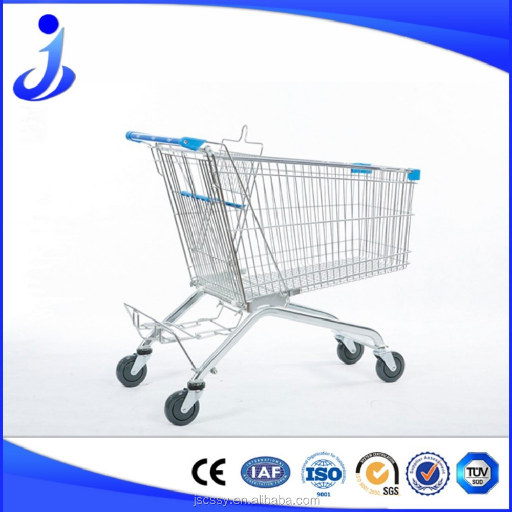 Customized Shopping Trolley Cart With Seat From Chinese Factory