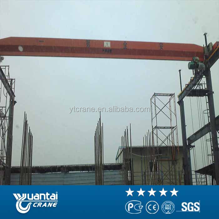 Tools Used For Mechanical Workshop 10t Single Girder Overhead Crane