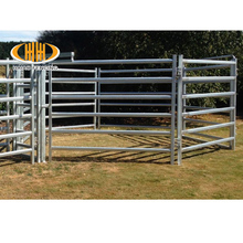 galvanized welded pipe wire corral fence panels