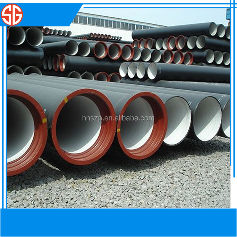 Sand casting ductile iron and grey iron fire hydrant stand pipe wholesale water pressure ductile iron pipe class k9
