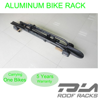 New car locking cycle carrier roof mounted upright bicycle rack