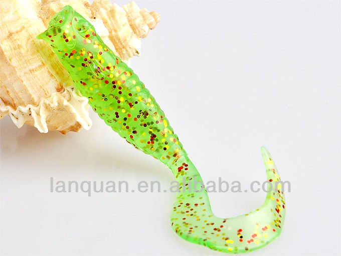 Lanquan soft plastic fishing lure GRUB