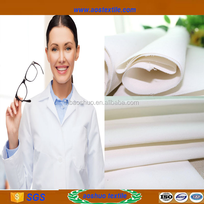 tc clothing fabrics Poleyster fabric for medical uniform and chef uniform fabric