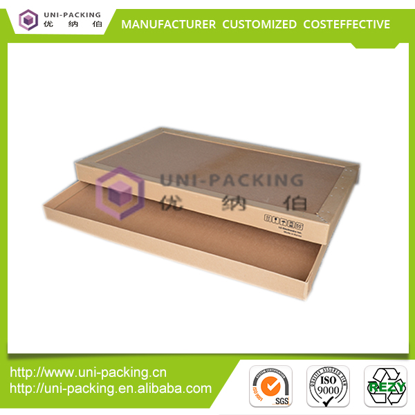 Logistics Packaging Paper Corrugated Boxes Brown Carton