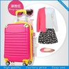 red popular 4 spinner wheels ABS travel suitcase luggage set
