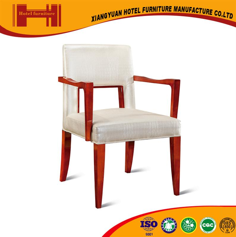New Design hotel PU leather european style leather chair stainless steel
